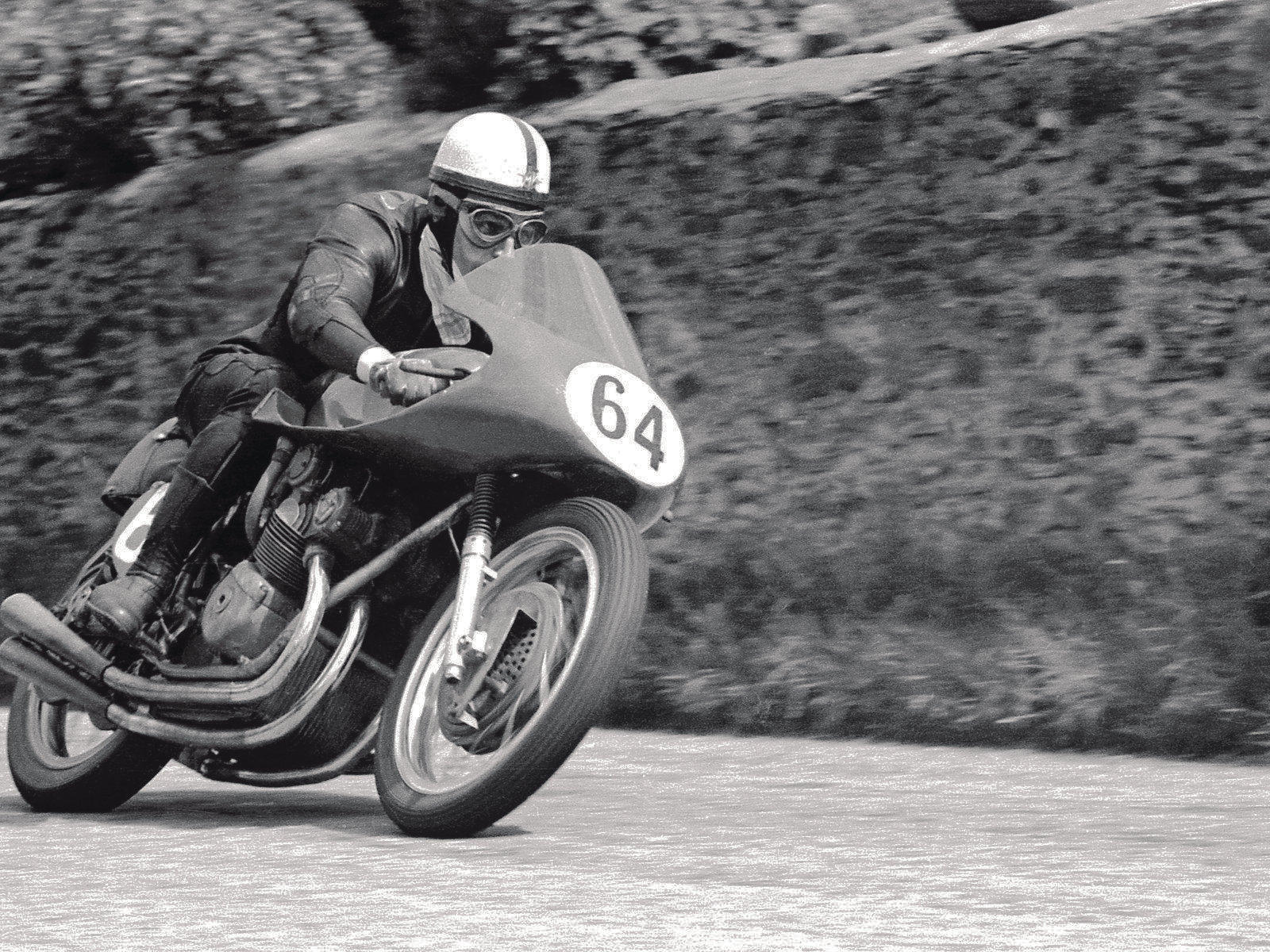 John Surtees seemed untouchable on two wheels.