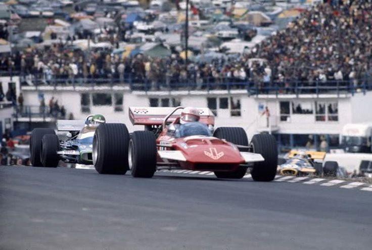 Derek Bell, 1970 United States Grand Prix.