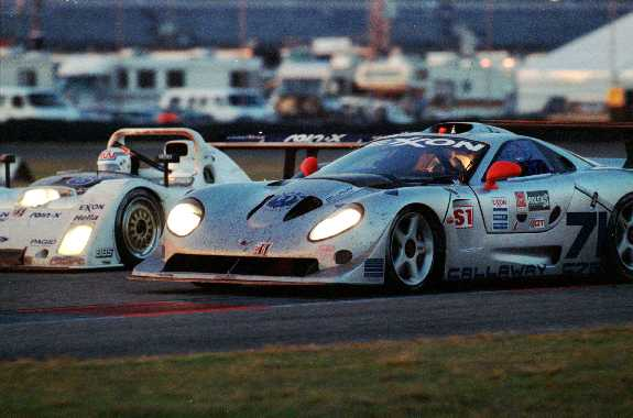 Getting passed by a Rile MkIII, Daytona 1997.