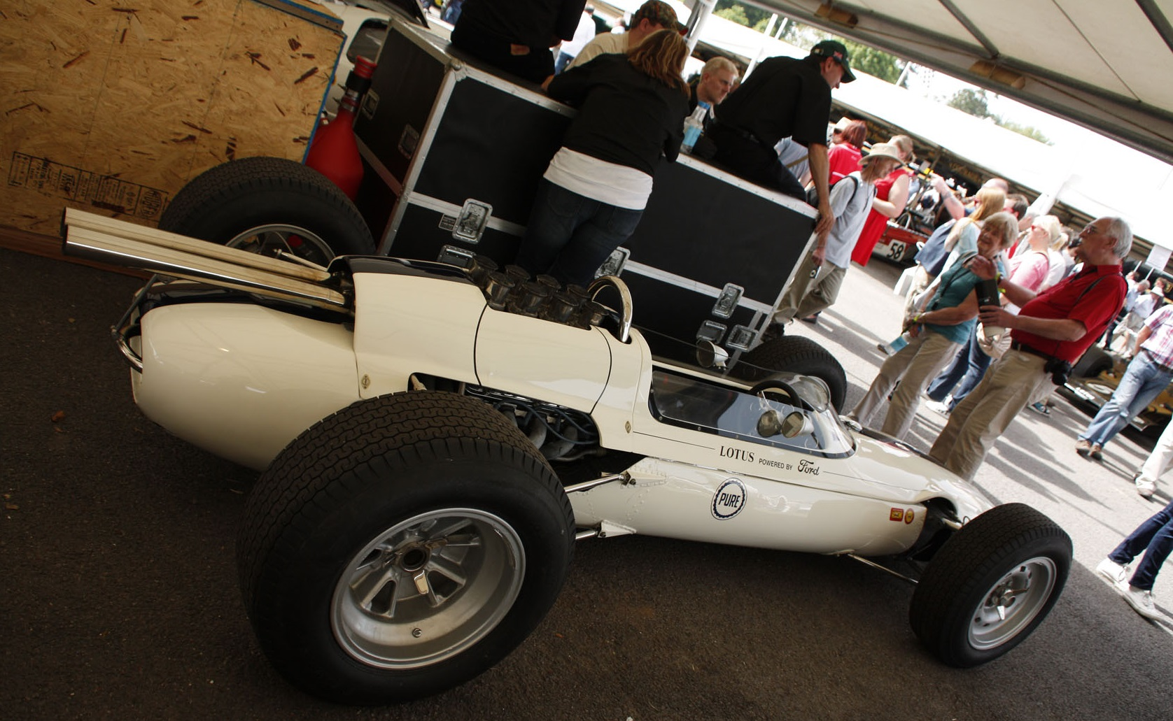 The Lotus 29 was Colin Chapman's first warning to the front-engined establishment.