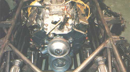 The trusted Chevrolet V8 was reused for Jules II.