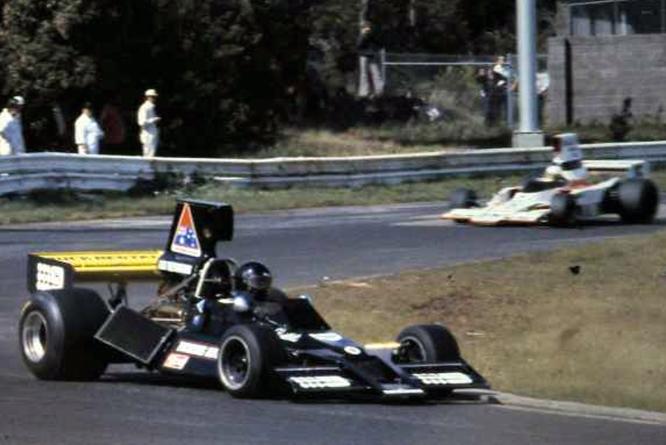 KB's Brabham Chevrolet BT43 F5000 car
