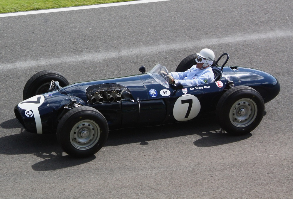 Stirling Moss and the innovative Ferguson P99.