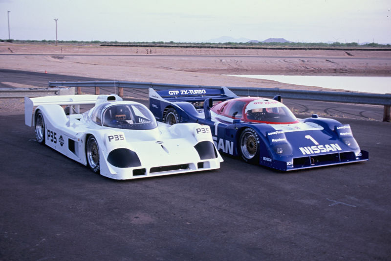 Compared to the brutal sprint-race GTP ZX-Turbo the P35 was a much more elegant machine.