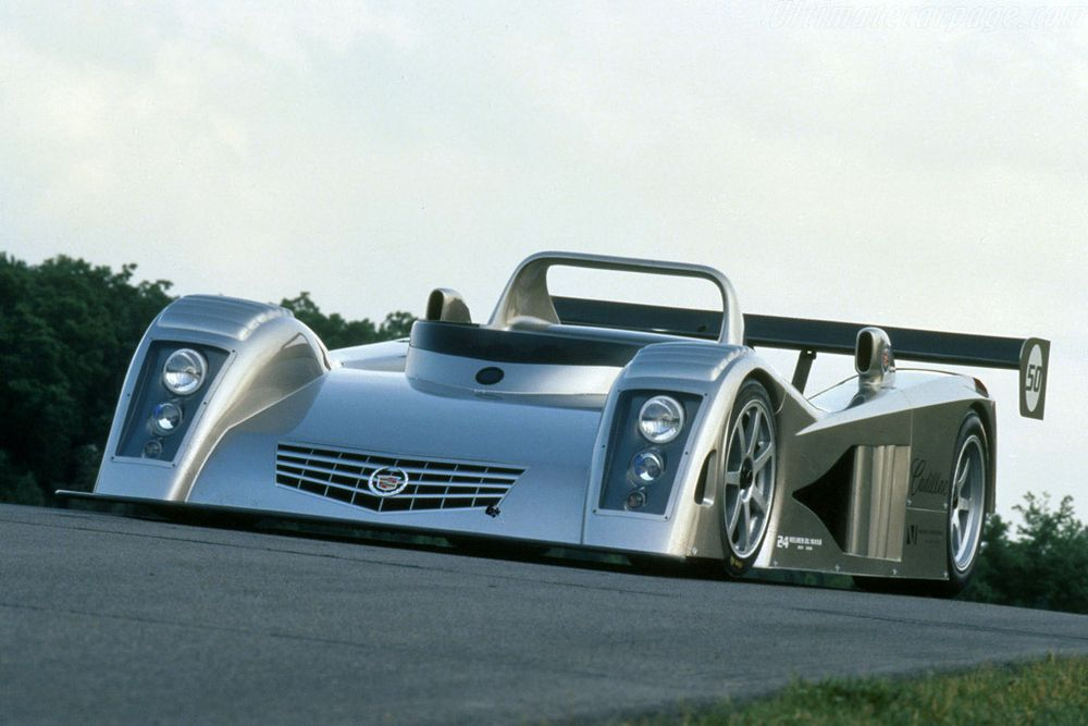 The concept version of Cadillac's 2000 Le Mans challenger.