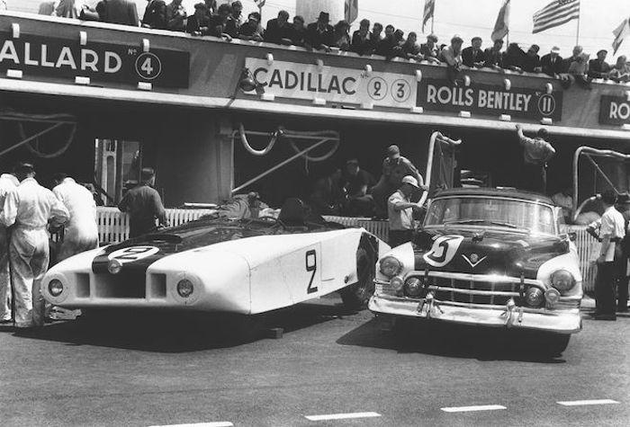 """""""Le Monstre"""" and """"Petit Pataud"""", Le Mans 1950."""