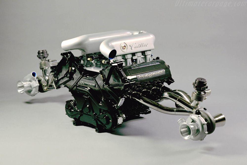 he twin turbo Northstar LMP engine.
