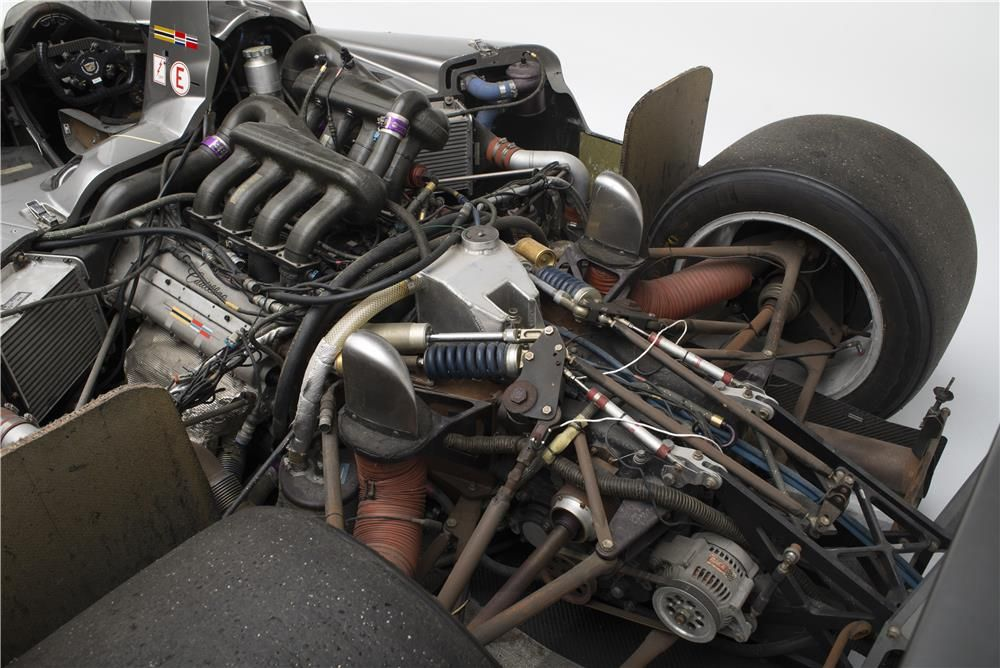 The twin turbo Aurora engine as fitted to the Northstar LMP.