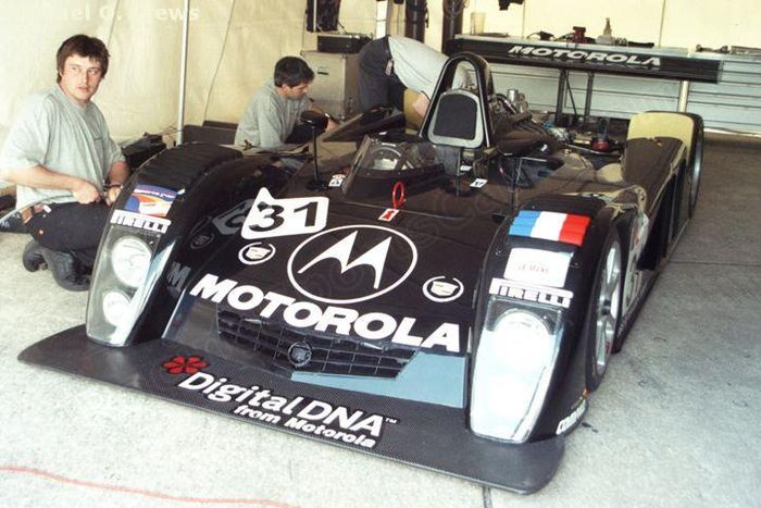 DAMS was only able to run a single car at Sebring.