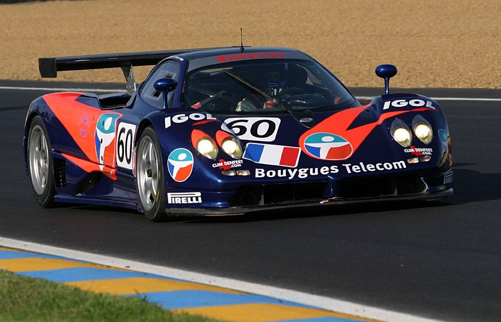 Force One Racing attempting to qualify for the 2004 24 Hours of Le Mans.