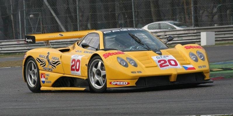 The Zonda GR in Czech ownership, Monza 2007.