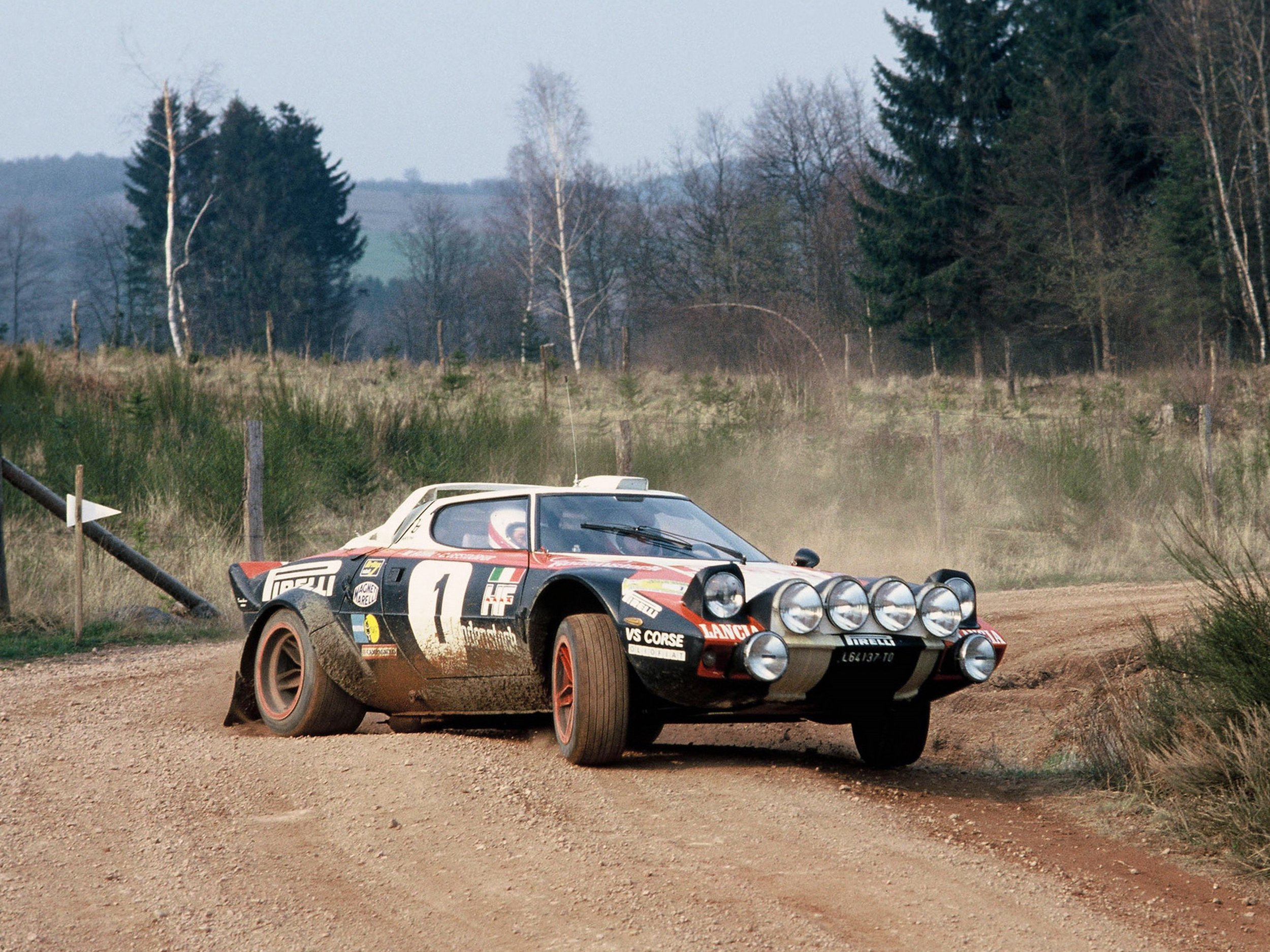 The Group 4 Lancia Stratos was the first true homologation special in rallying