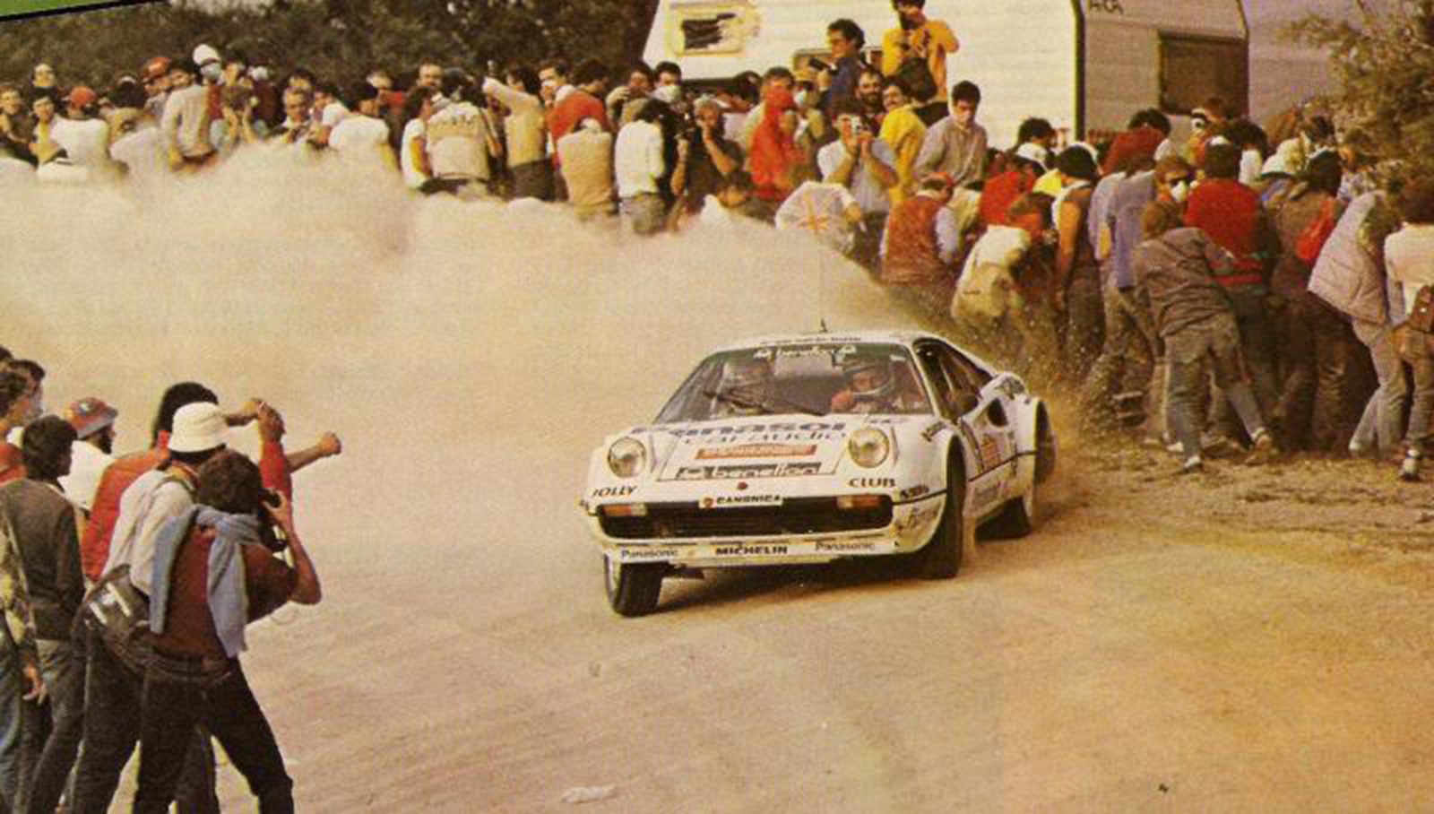 The Michelotto Ferrari 308 Group 4 was the brand's gateway into rally racing.