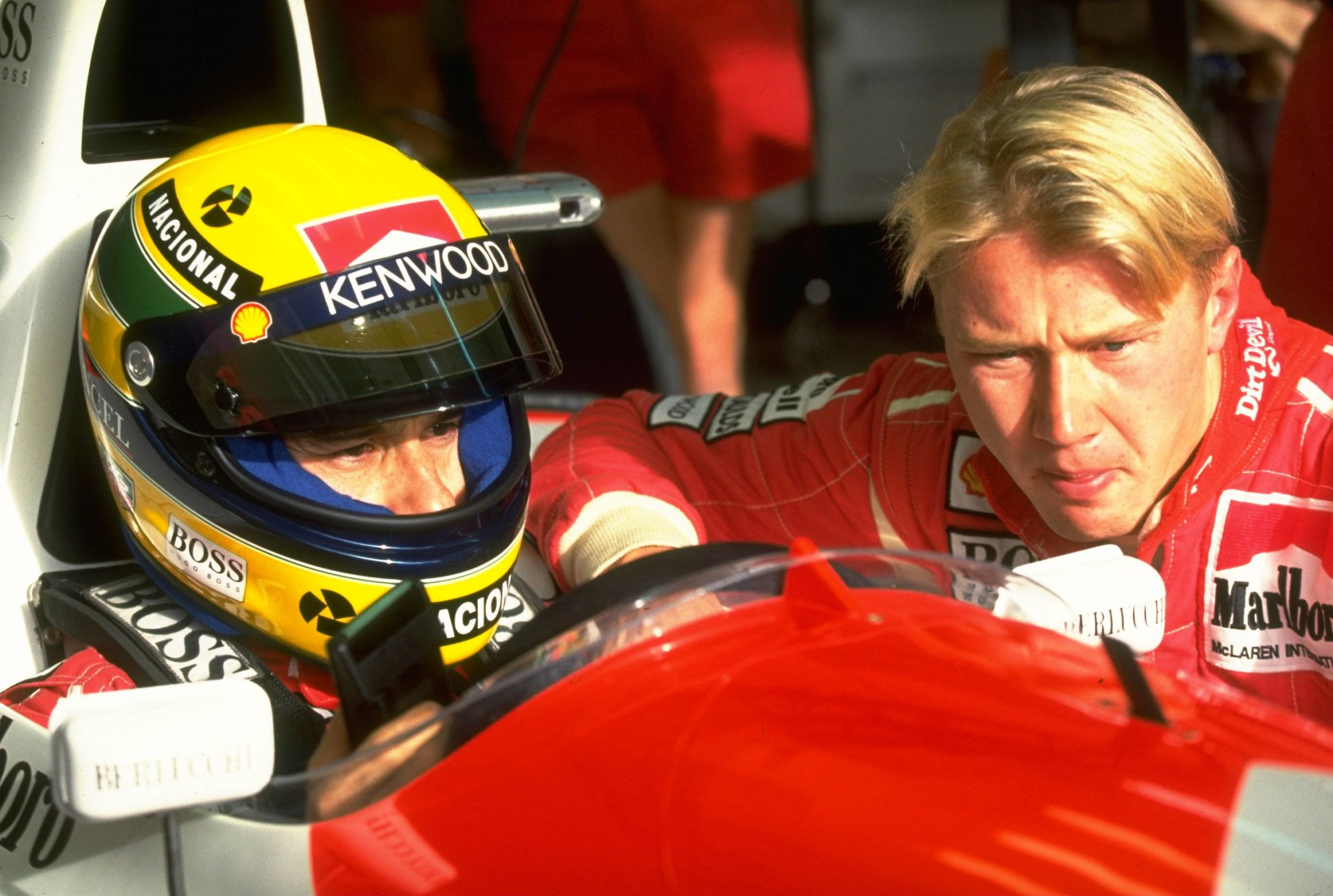 Mika Häkkinen lost his F1 seat to Michael Andretti prior to the start of the season.