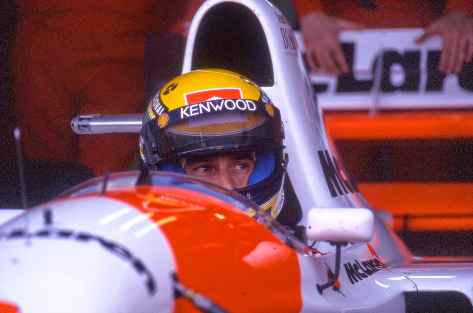 Senna was unhappy with the situation at McLaren