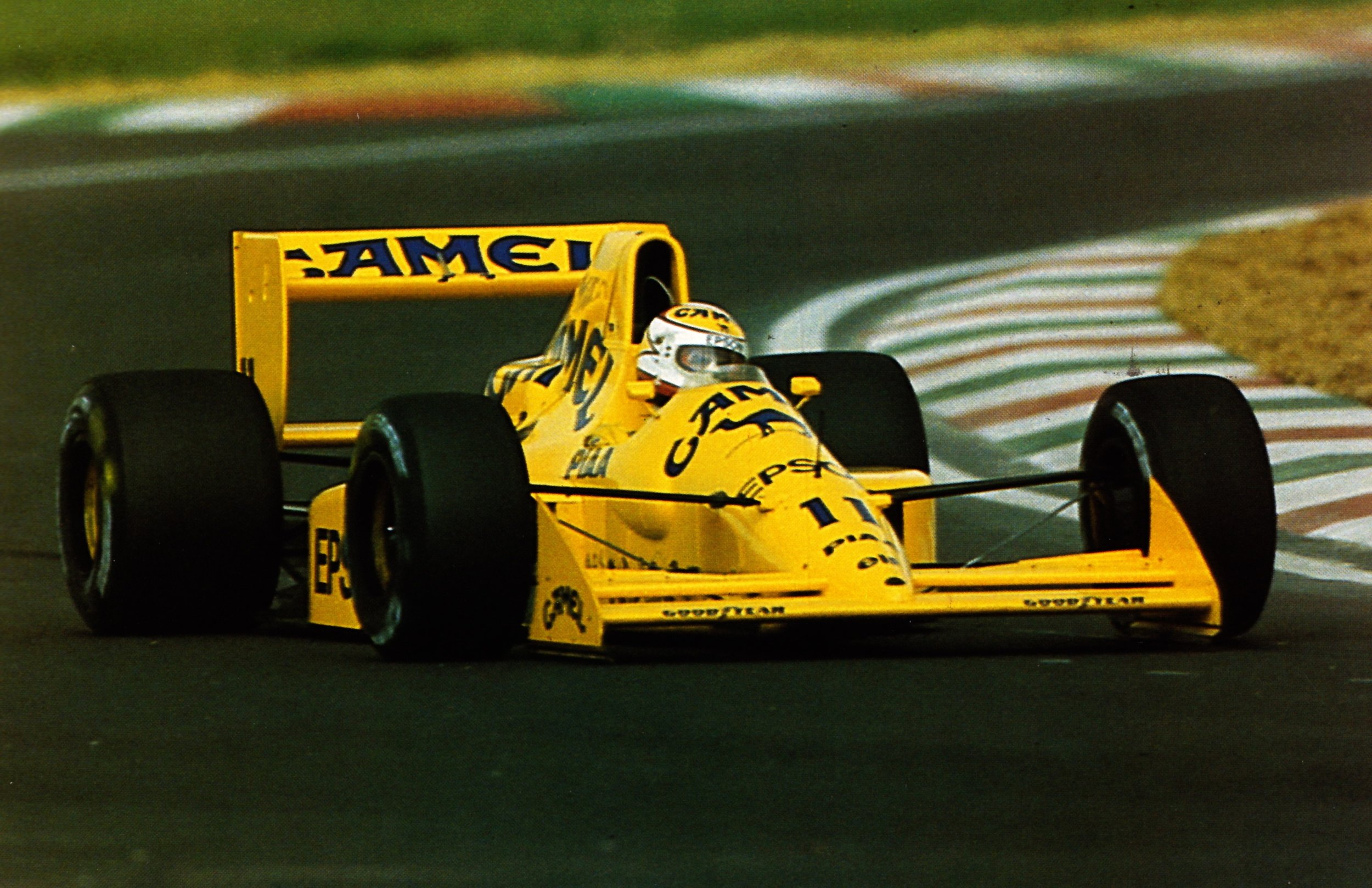 The Judd-powered 101 represented Lotus' difficulty in adapting to the 3.5L formula.