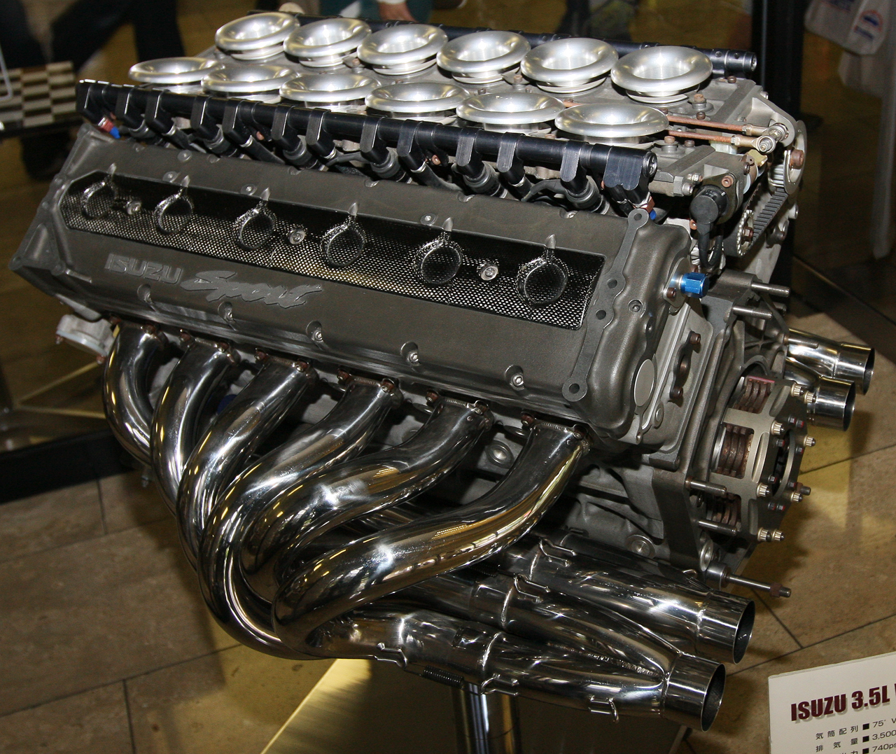 The Isuzu V12 appeared to be Lotus' ticket back to the top.