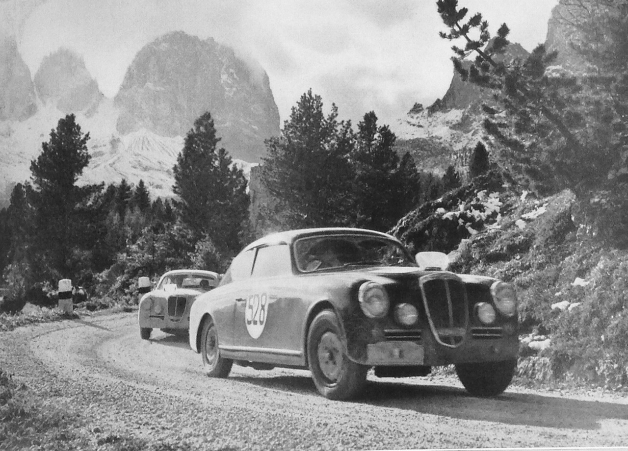 The 1953 Rallye des Alpes was the first event to encourage flat out driving all the way.
