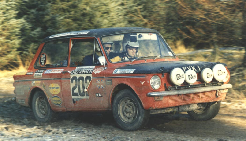 Cars like this Hillman Imp signaled the switch to light and nimble designs from the big sportscars of old.