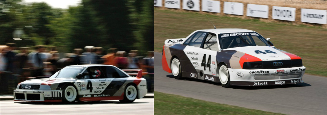 The 90 IMSA GTO (left) and 200 Trans Am conquered the American racing scne with ease.