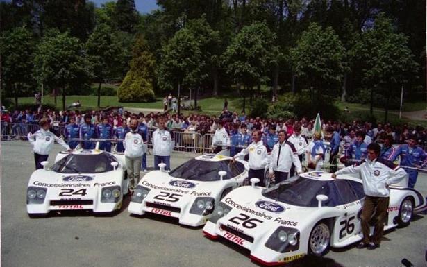 The Rondeau team, Le Mans 1983.