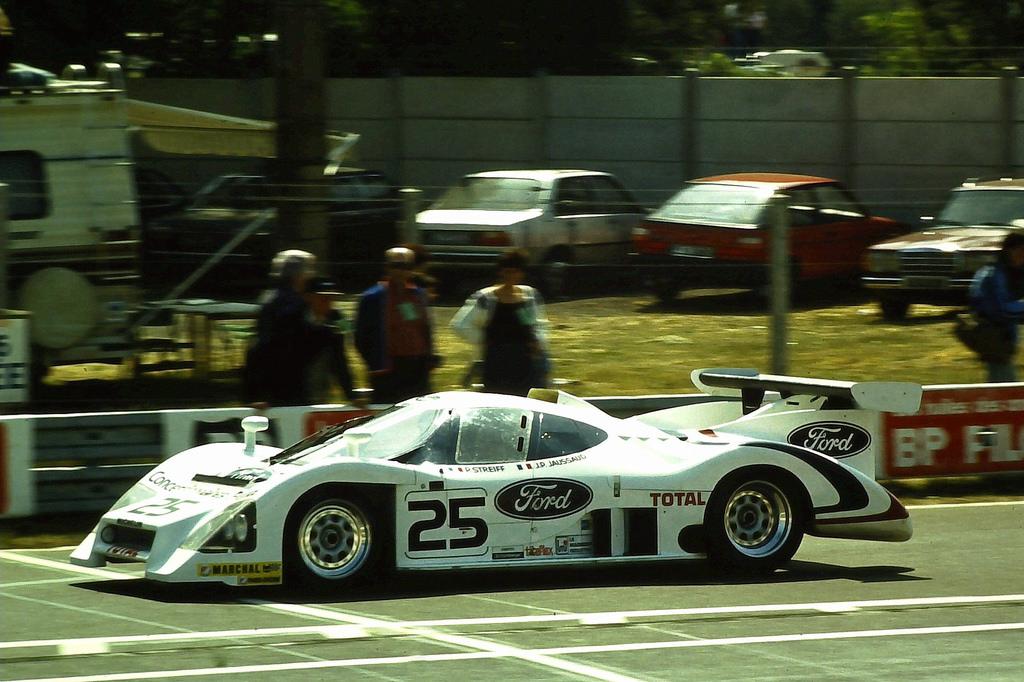 Streiff/Jaussaud, Le Mans 1983.