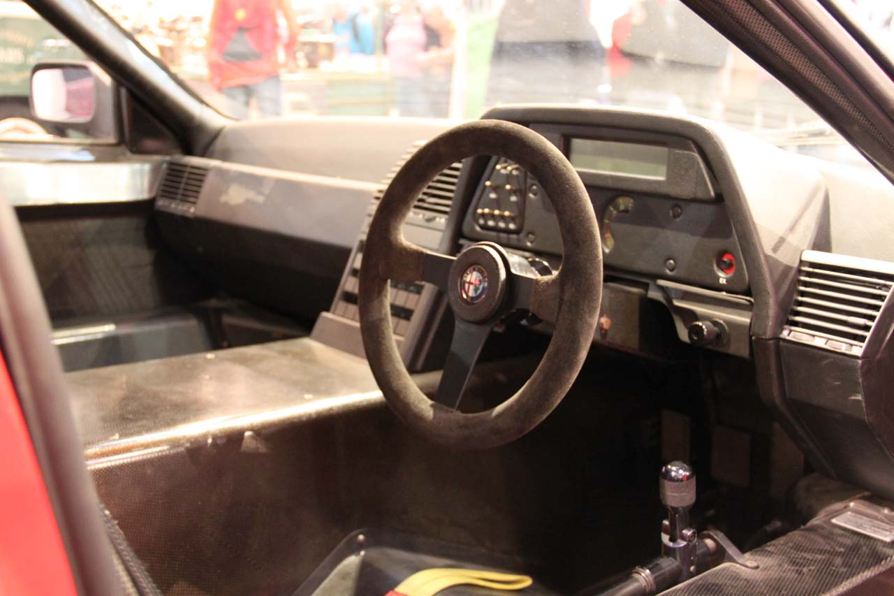 Even the car's interior looked relatively inconspicuous.
