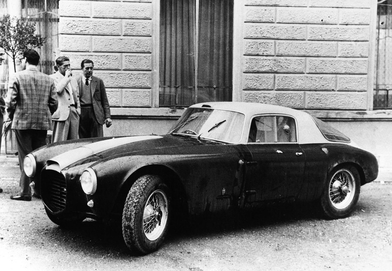 The Lancia D20 was the company's first dedicated racing car.