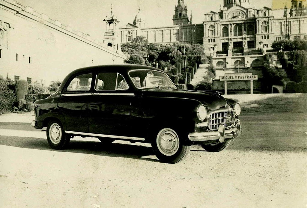 The 1953 SEAT 1400, Spain's first people's car.