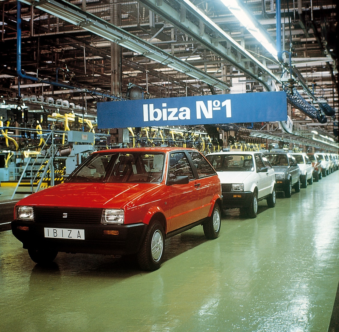 The 1984 SEAT Ibiza represented a giant quantum leap for the company.