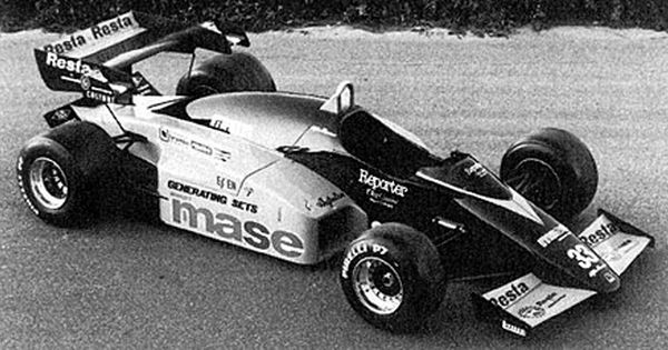 The Alfa Romeo-powered M184 was quickly abandoned.