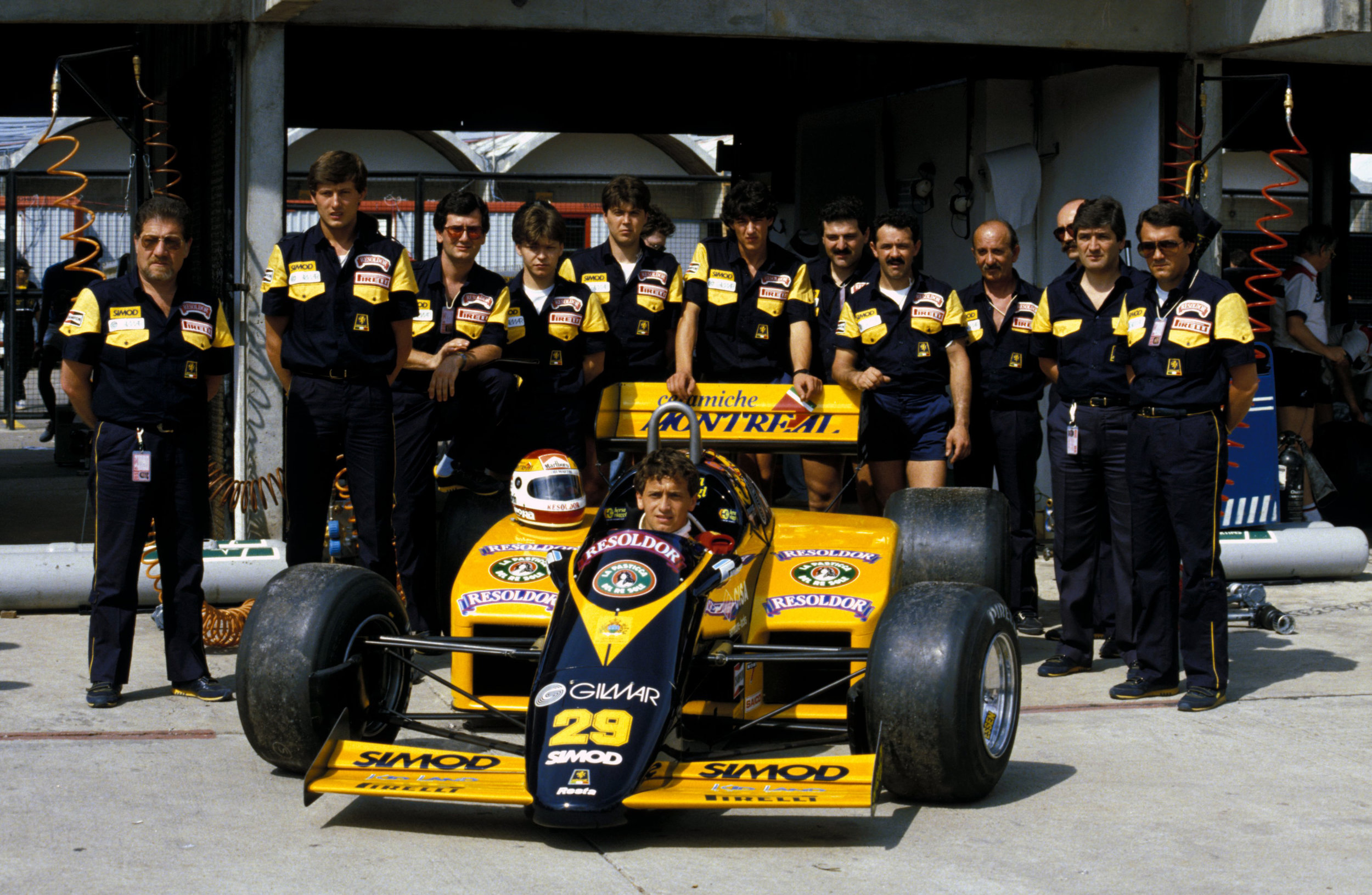 Minardi's 1985 Formula One effort.