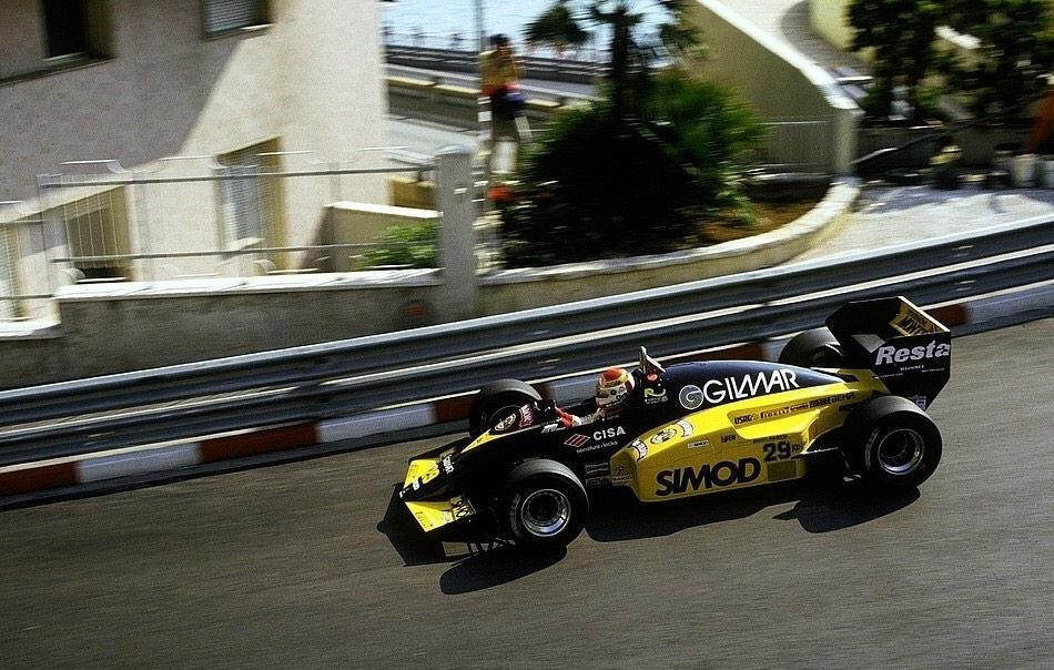 Pierluigi Martini failed to set a time at Monaco.