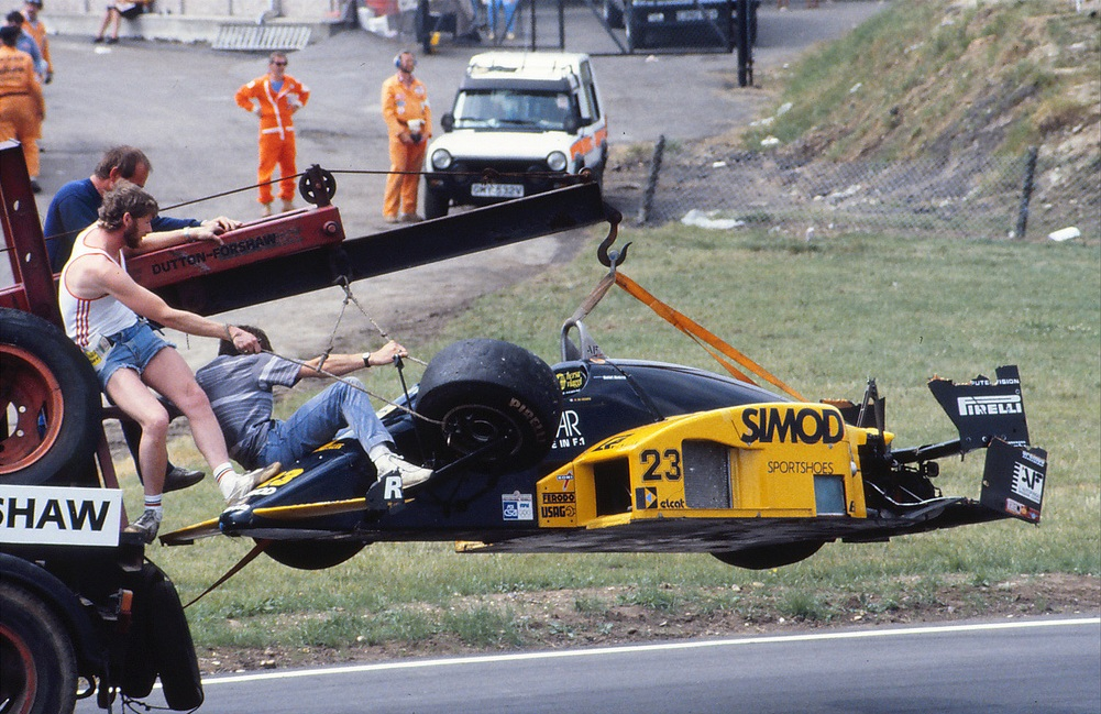 The M185B was another resounding success for Minardi.