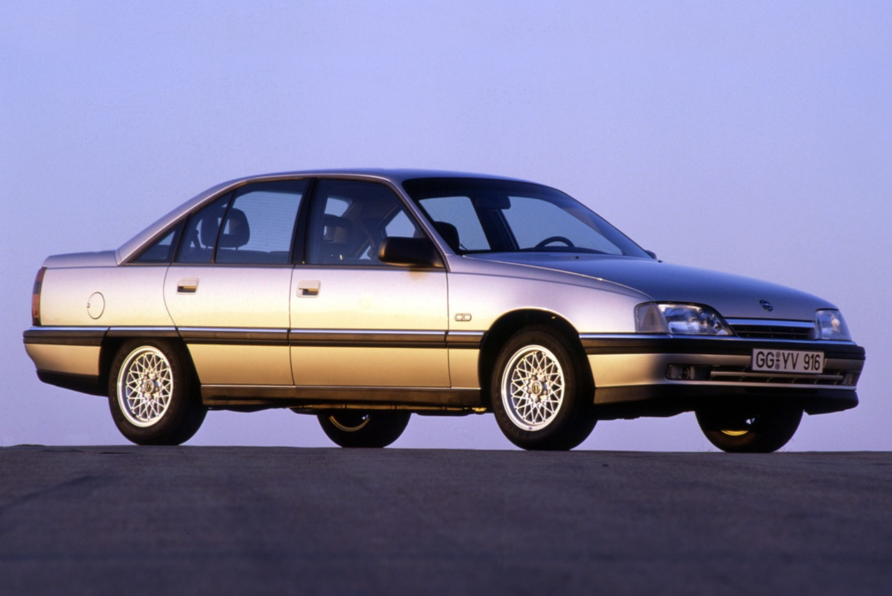 The recently face-lifted Opel Omega A2 was chosen as the company's first full bore DTM weapon.