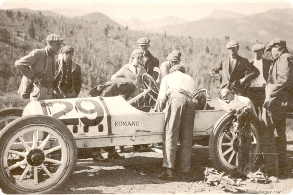 The first Pikes Peak winner: the Romano Demon Special.