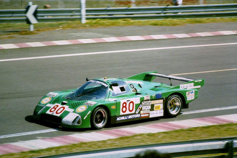 Alba entered the sport with the C Junior AR2 in 1983.