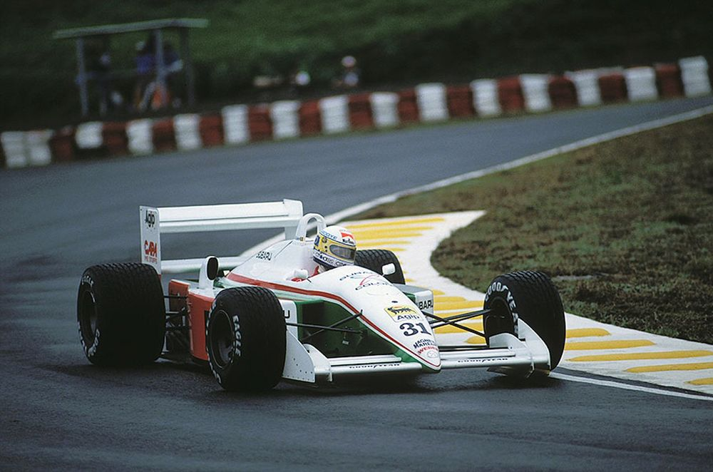 The horrendous Coloni C3B F1-car would find itself linked to Alba in 1990.