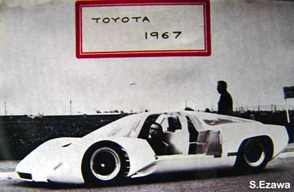 The completed Toyota JP6 being tested in Japan by Yamaha.