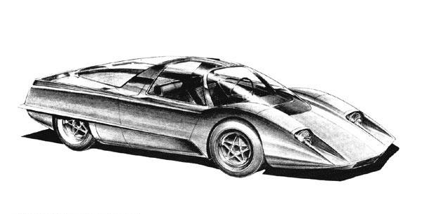 A sketch of BRE Project No 6, 1970.