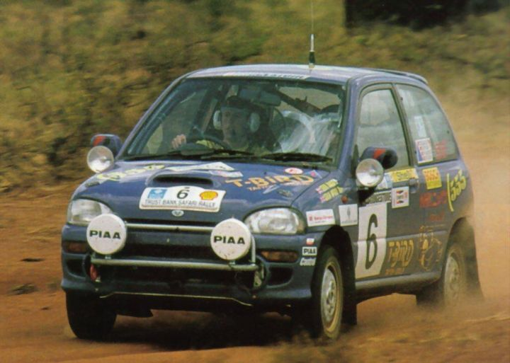 A young Colin McRae was drafted to be part of the Vivio program.
