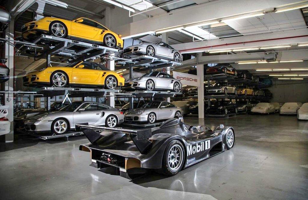 The sole existing 9R3 resides in solitude in Porsche's private lockup.