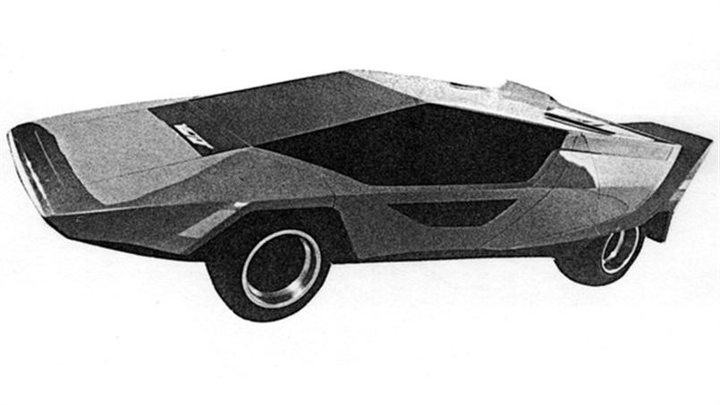 """1972's """"The Vector"""" proved to be too extreme to put into production"""