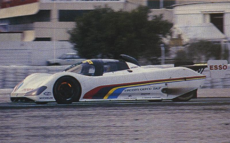 The 905 testing at Paul Ricard.