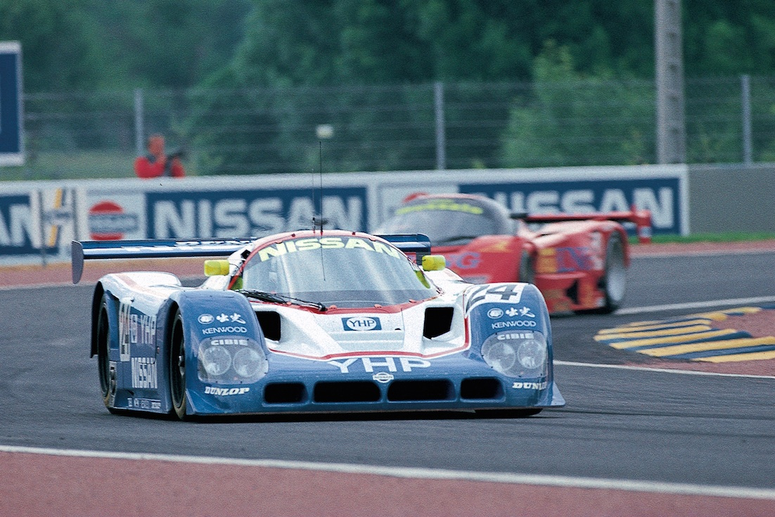 With over 1000 horsepower in qualifying trim, cars like the Nissan R90CK completely outgunned the 905.