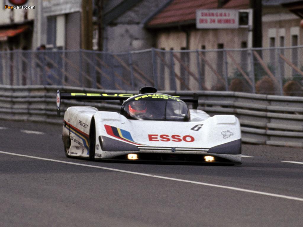 Keke Rosberg/Yannick Dalmas/Pierre-Henri Raphanel on the recently interrupted Mulsanne straight, 1991.