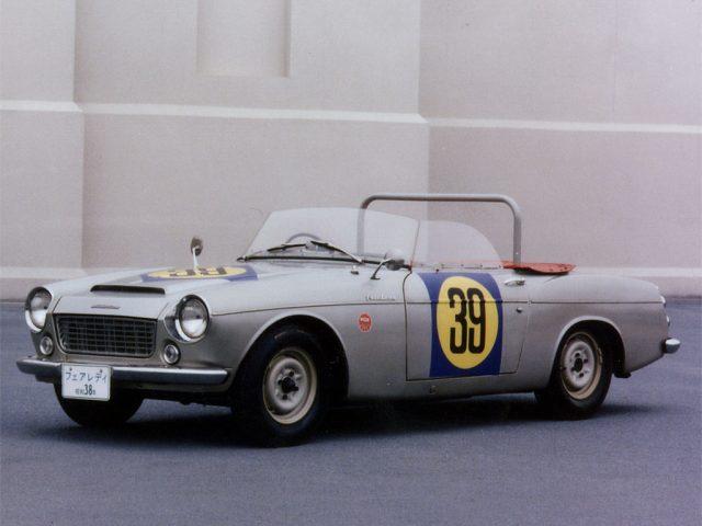 Genichiro Tawara's 1963 Japan Grand Prix winning Datsun Fairlady 1500.