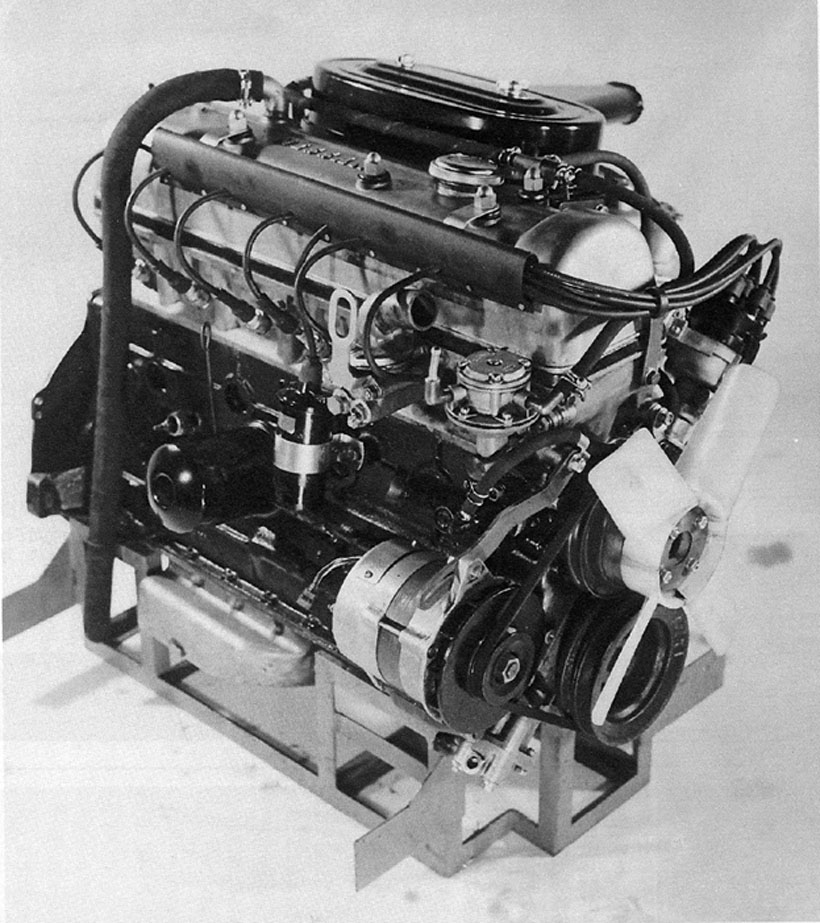 The L20 provided the base for the new racer's heart.