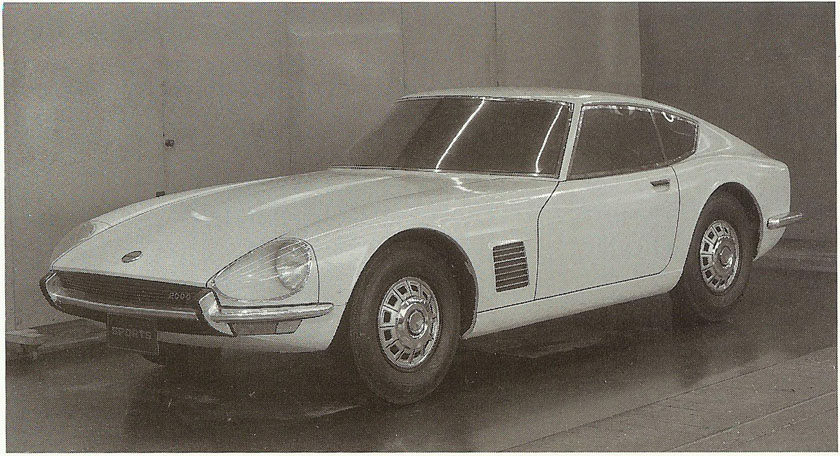 1966's Datsun Z-car prototype bore some similarities to the ill-fated A680X.