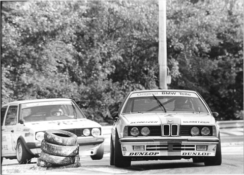 Dieter Quester managed to secure the ETCC title in 1983.